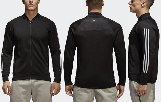 adidas Athletics Herren ID Knit Bomberjacke für 44,97€ (statt 63€)