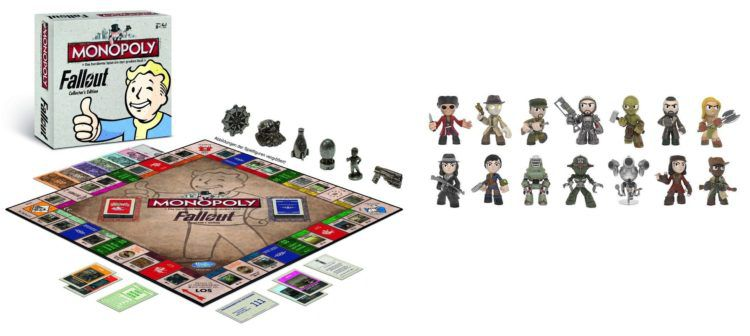 Fallout Monopoly Collectors Edition + 6 Mystery Minifigures für 47,99€ (statt 55€)