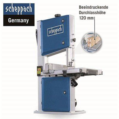 scheppach Bandsäge HBS261 mit 2 Sägebändern für 203,95€ (statt 234€)