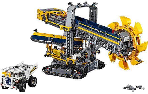 Lego Technic 42055   Schaufelradbagger für 145,90€ (statt 167€)