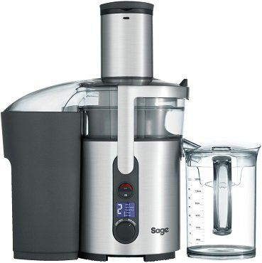 Sage SJE520   The Nutri Juicer Plus Entsafter in Silber/Transparent für 149,99€ (statt 194€)