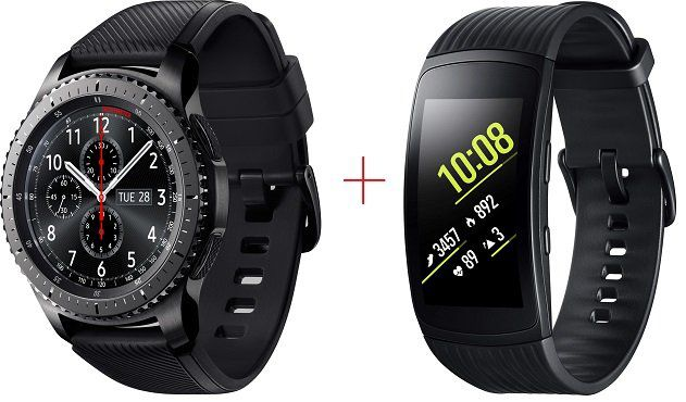 Samsung Gear S3 Frontier + Samsung Gear Fit 2 Pro für 289€ (statt 342€)