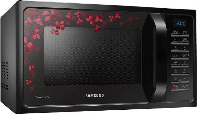SAMSUNG MC28H5015CB/EG Mikrowelle mit 900W und Blumen Muster für 149€ (statt 179€)