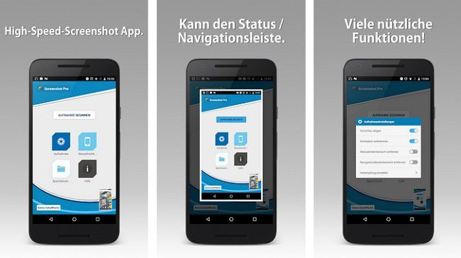 Kostenlose (statt 2,79€) Android App: Screenshot Pro (License)
