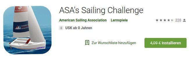 ASAs Sailing Challenge gratis für Android
