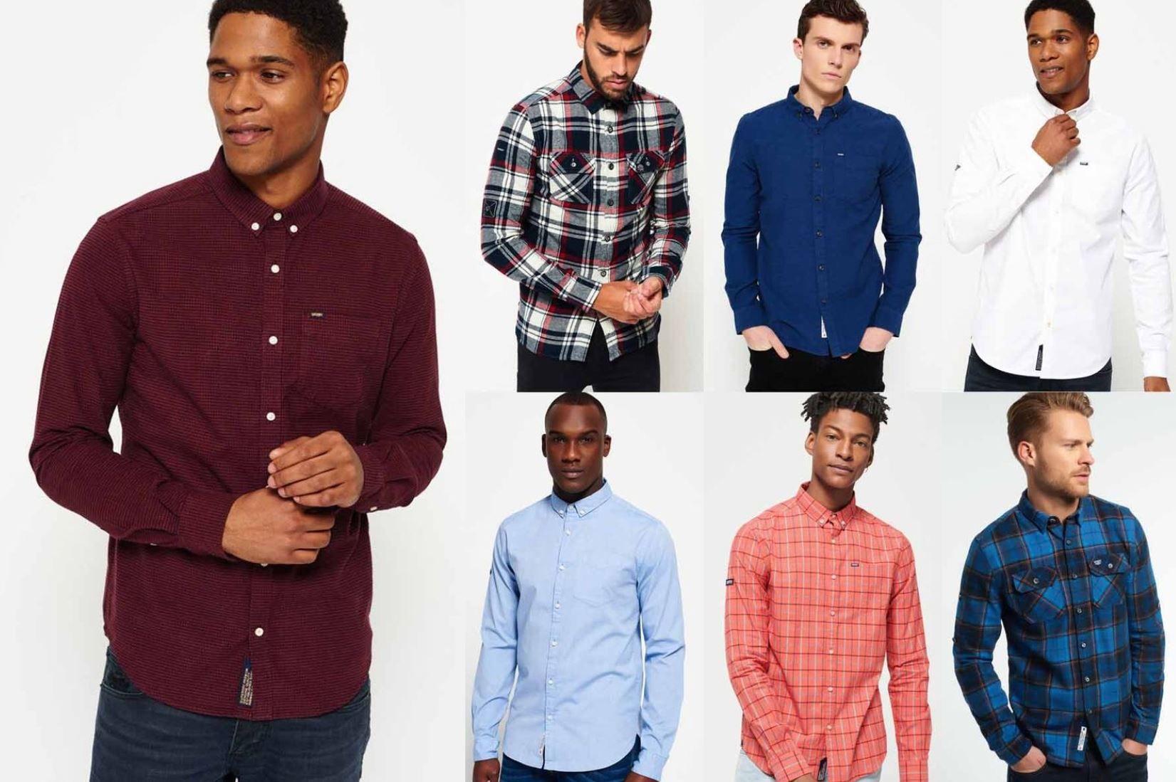 Superdry Herren Hemden   neue Modelle für je 27,95€