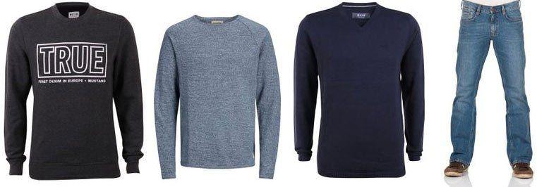 Jeans Direct: Bis 80% Rabatt im SALE + 10€ oder 15% Extra Rabatt   z.B. 4er Pack Mustang Shirts für 30,88€
