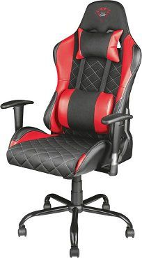 TRUST GXT 707R Gaming Stuhl in Schwarz/Rot ab 169€ (statt 185€)