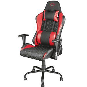 TRUST GXT 707R Gaming-Stuhl in Schwarz/Rot ab 139€ (statt 160€)