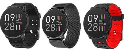 UMIDIGI Uwatch Smartwatch mit schwarzem Stahlband für 22,52€ (statt 40€)