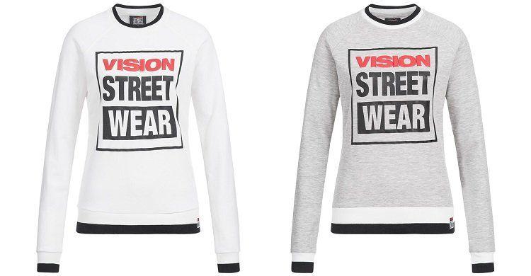 Vision Street Wear Crew Neck Damen Sweatshirt für 7,28€ (statt 16€)