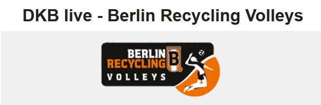 Für DKB Kunden: Gratis Recycling Volleys vs. United Volleys Frankfurt am 18.11.2018 in Berlin