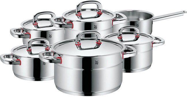 WMF 17.8806.6040 Premium One Kochgeschirr Set 6 teilig für 269€ (statt 290€)
