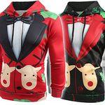 X-Mas Hoodies in versch. Farben für je 12,96€
