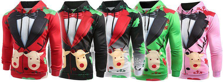 X Mas Hoodies in versch. Farben für je 12,96€