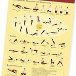 Yoga-Übungsplan (A3) gratis erhältlich
