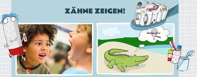 Kinderbücher über Zahnpflege kostenlos bestellen