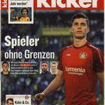 Kicker Jahresabo (104 Ausgaben) für 230€ inkl. 150€ Verrechnungsscheck