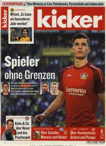 Kicker Jahresabo (104 Ausgaben) für 236,60€ inkl. 150€ Amazon Gutschein