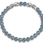 """Susan Y Armband """"Ozean"""" mit blauen Swarovski-Steinen für 11,99€ (statt 25€)"""