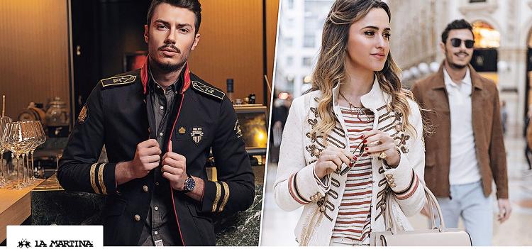 La Martina Sale bei vente privee mit bis zu 60% Ersparnis   z.B. Poloshirt essential ab 44,99€ (statt 90€)