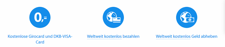 Kostenloses DKB Girokonto + Visa Card + 25€ BC Gutschein