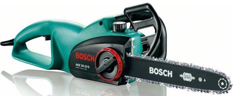 Bosch 35cm Elektro Kettensäge AKE 35 19 S für 79,99€ (statt 100€)