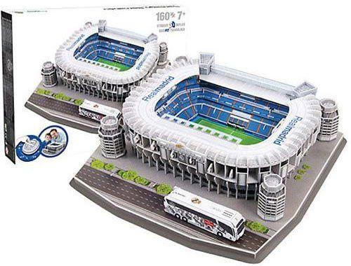Real Madrid Santiago Bernabéu Stadium 3D Puzzle (160 teilig) für 11,67€