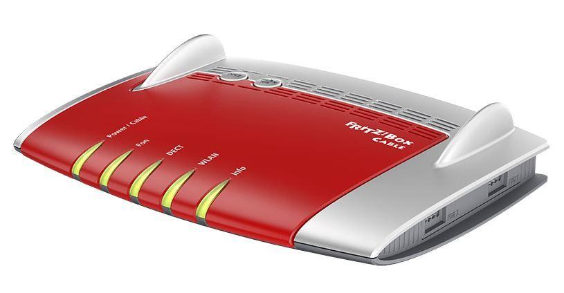 AVM FRITZ!Box 6490 Cable mit WLAN AC bis zu 1300 Mbit/s für 125,99€ (statt 157€)