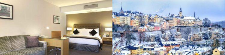 Vorbei zu dem Preis! 1   3 ÜN im Queen Size Bett mit Frühstück und Galadinner am Silvesterabend im 4* Hotel in Luxemburg ab 199€ p.P.