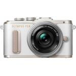 Olympus E‑PL8 Pancake Systemkamera mit Objektiv 14-42 mm für 379€ (statt 409€)