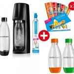 SodaStream Easy im Super Spar Pack (4x PET-Flaschen & 3x 6 Sirupproben) für 59,90€ (statt 73€)