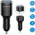Elecwave USB Autoladegerät mit 2 Ports & Streamingfunktion für 13,94€ – Prime
