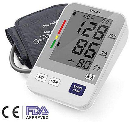 Digitales Oberarmblutdruckmessgerät für bis zu 2 Benutzer für 11,99€   Prime