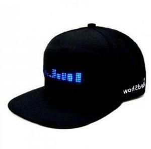 Basecap mit LED Anzeige und App Verbindung für 12,97€