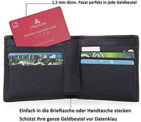 RFID Blocker in Schwarz oder Rot für 5,99€   Prime