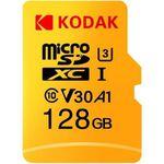 Kodak U3 A1 V30 Class10 microSD Karte mit 128GB für 16,08€ (statt 25€)