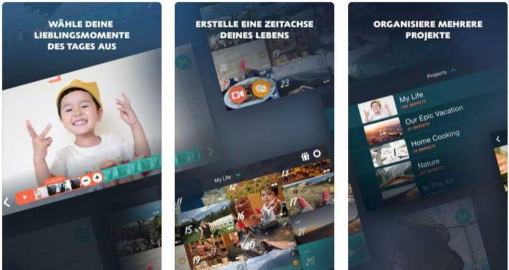 "Gratis: ""1 Second Everyday: Video Diary"" für iOS (statt 5,49€)"