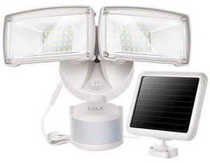 Doppelkopf Solar LED Außenlicht mit Bewegungsmelder für 41,59€ (statt 52€)