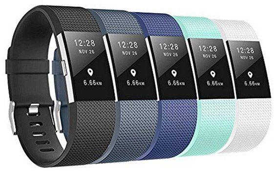 5er Pack Armbänder für das Fitbit Charge 2 für 6,49€   Prime