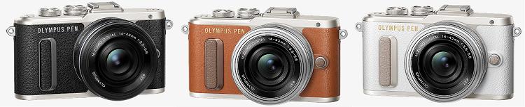 Olympus E‑PL8 Pancake Systemkamera Zoom Kit für 333€ (statt 424€)