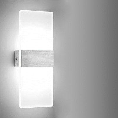 Hengda LED Wandleuchten (6W) ab 10,49€