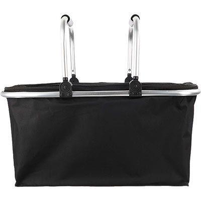 5er Pack: Einkaufskorb in Schwarz für 17,90€ (3,58€ pro Stück)