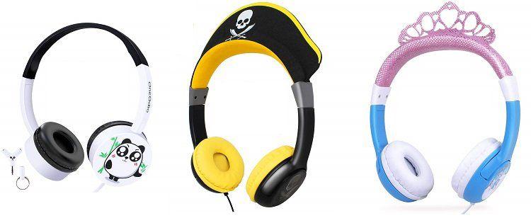 OneOdio Kinderkopfhörer mit Lautstärkebegrenzung in verschiedenen Designs für je 3,19€