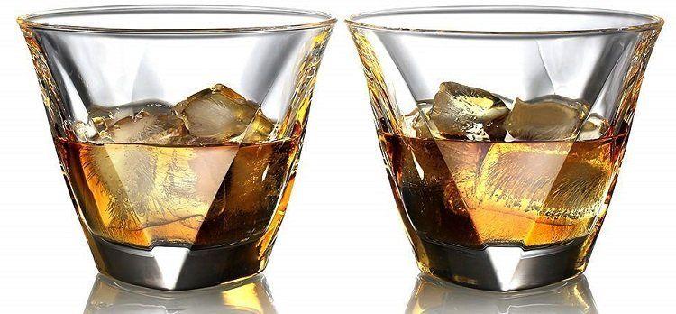ecooe Whiskeygläser 2er Set (2 x 300 ml) für 10,90€ (statt 18€)