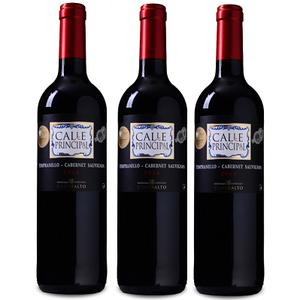 12 Flaschen Calle Principal Sauvignon Vino de la Tierra Castilla Rotwein für 39,99€ (statt 60€)