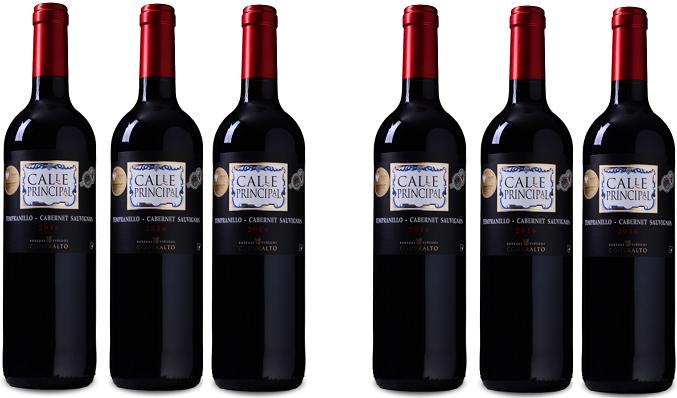 6 Flaschen Calle Principal Sauvignon Vino de la Tierra Castilla Rotwein für 23,94€ (statt 48€)