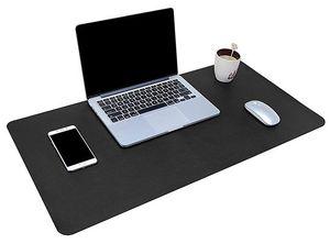 XXL Schreibtischunterlage (80x40 / 90x43cm) aus PU Leder ab 8,49€   Prime
