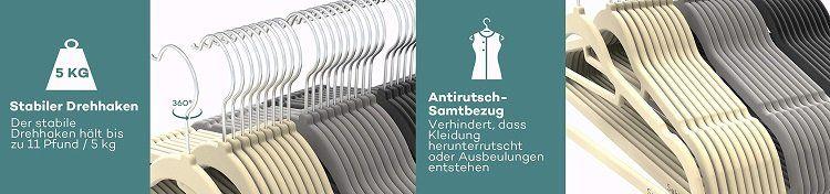 Sable 30 teiliges Kleiderbügelset für 12,99€ (statt 19€)
