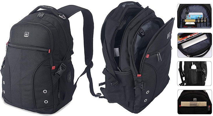 XY Life Rucksack in Schwarz für 14,99€ (statt 30€)